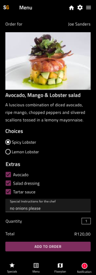Menu Details - Slide Anything Popup Preview